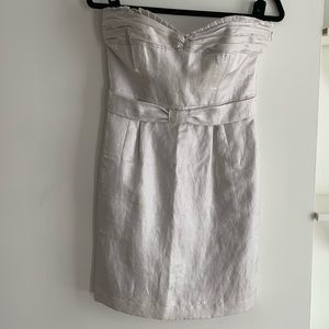 Club Monaco Silver Cocktail Dress
